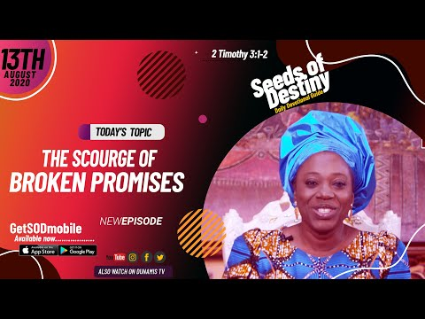 Dr Becky Paul-Enenche - SEEDS OF DESTINY - THURSDAY AUGUST 13, 2020