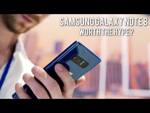 Samsung Galaxy Note 8: Worth the HYPE? (Hands-On) - UCGq7ov9-Xk9fkeQjeeXElkQ
