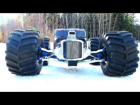 RC ADVENTURES - Monster GRiM REAPER - RatRod RC - Traxxas Summit 4x4 Snaps Axle! - UCxcjVHL-2o3D6Q9esu05a1Q
