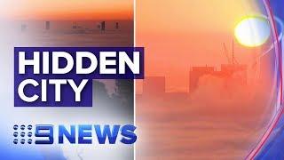 Ferries and flights suspended as Brisbane shrouded in fog | Nine News Australia