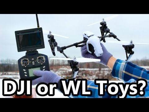 Toy Knock Off Quad Better than Brand Name Drone? | WL Toys Q333-A Comparison - TheRcSaylors - UCYWhRC3xtD_acDIZdr53huA