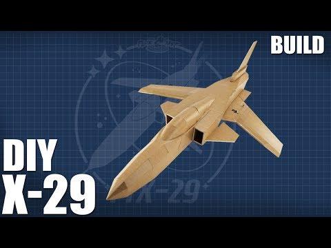 DIY Jet | FT X-29 BUILD - UC9zTuyWffK9ckEz1216noAw