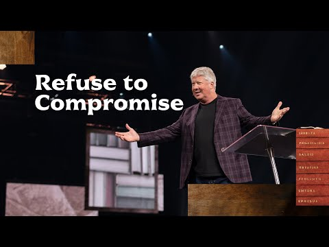 Gateway Church Live  Refuse to Compromise by Pastor Robert Morris  October 17