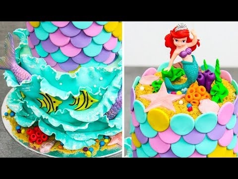 ARIEL The LITTLE MERMAID Cake | Amazing Cake Decorating Ideas by Cakes StepbyStep - UCjA7GKp_yxbtw896DCpLHmQ