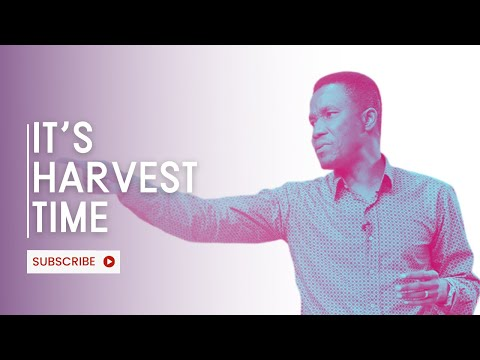 Believer's Guide to Harvest Time  / Godman Akinlabi / The Elevation Church / 29, Aug 2021