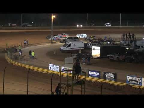 Sharp mini late models at Lavonia Speedway July 2nd 2021 - dirt track racing video image