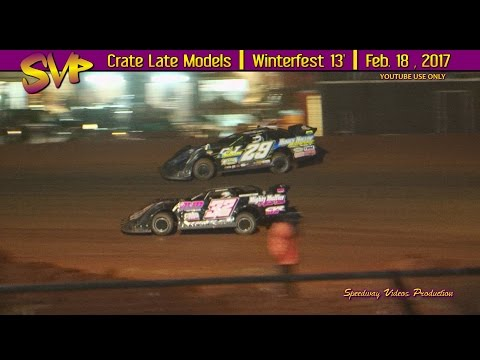 Winchester Raceway Park | 13' Winterfest | Support Class's | Feb 18 , 2017 - dirt track racing video image