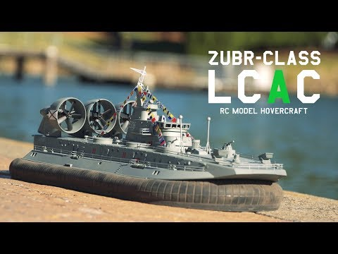 Zubr-Class LCAC 1/110th Scale Amphibious Hovercraft - HobbyKing Product Video - UCkNMDHVq-_6aJEh2uRBbRmw