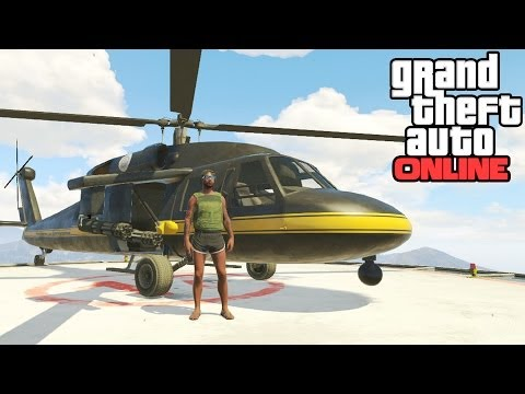 GTA Online: Annihilator Location! How To Get The Annihilator Helicopter (Grand Theft Auto 5 Online) - unknownplayer03