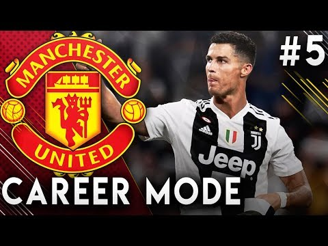 FIFA 19 Manchester United Career Mode EP5 - Ronaldo Returns To Man United!!