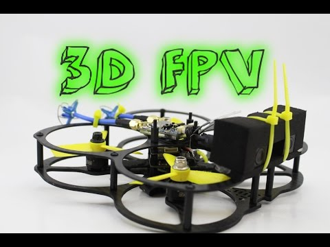 3D FPV DRONE? feel like YOU are REALLY FLYING!!! + skyzone 3d fpv goggles - UC3ioIOr3tH6Yz8qzr418R-g