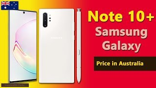 Samsung Galaxy Note 10 Plus price in Australia   Note 10+ 5G specs, price in Australia