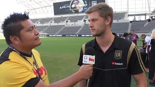 LAFC's Walker Zimmerman talks about clinching a spot in the 2019 playoffs
