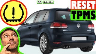 Reset spia pneumatici Volkswagen GOLF 6