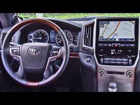 2016 Toyota Land Cruiser Interior F Sport Lt