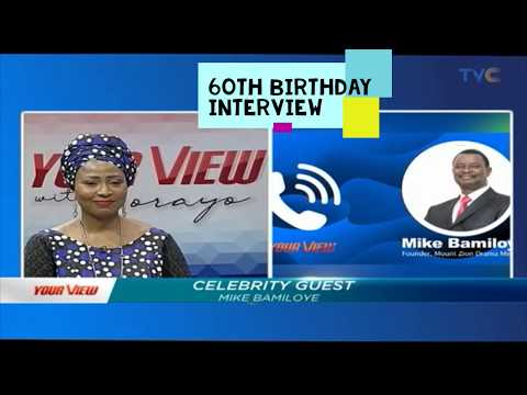 Have you Tasted Alcohol?Mike Bamiloye 60th Birthday Interview @TVC
