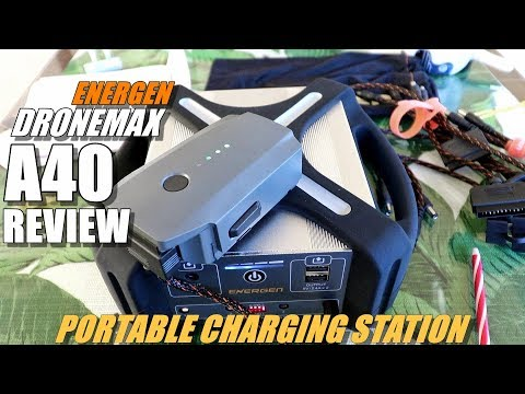 ENERGEN DroneMax A40 Portable Drone Charge Station Review - 40,000 mAh Beast! - UCVQWy-DTLpRqnuA17WZkjRQ
