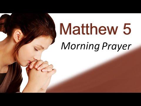 LETTING GO OF UNFORGIVENESS - MORNING PRAYER