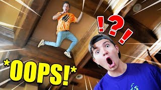 SNEAKING INTO PRESTON'S HOUSE *GONE WRONG*