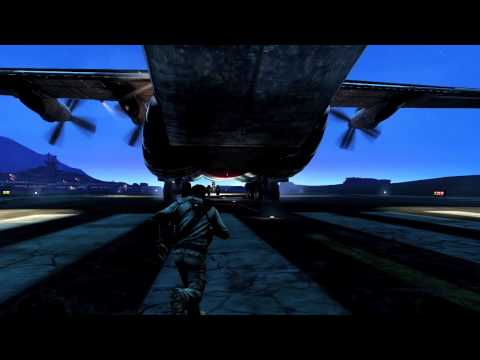 NEW Uncharted 3 Cargo Plane gameplay (HD) - UCFiHjGyrJux8Rt4e6mUPU-w