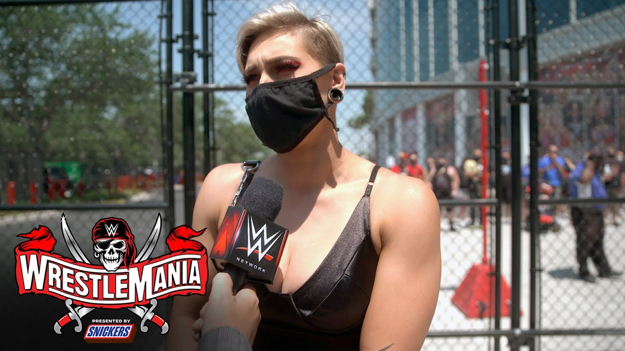 It's time for Rhea Ripley to get down to business: WrestleMania 37 Exclusive, April 10, 2021