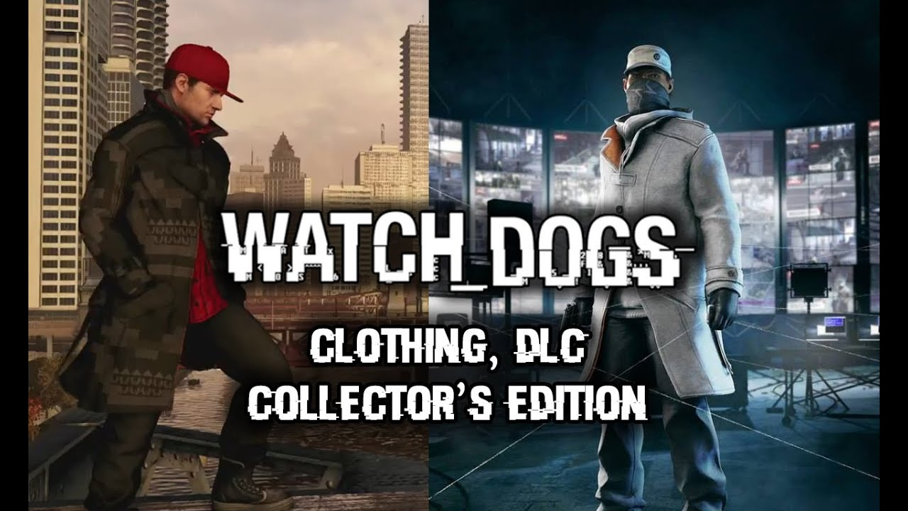 Watch Dogs Clothing Multiplayer Outfits Dlc Season Pass Dedsec