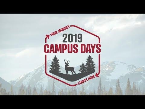 Campus Days 2019: Day 3, Session 9 - Daniel Bennett