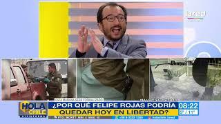 Los nuevos delitos que se le podrían imputar a Felipe Rojas tras hallazgo de Fernanda Maciel