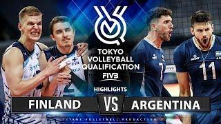 Finland vs Argentina   Highlights Men's OQT 2019
