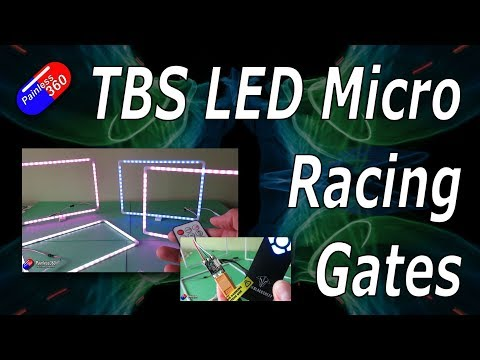TBS LED Micro Racing Gates and Micro Battery Charger - UCp1vASX-fg959vRc1xowqpw