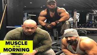 SHAUN CLARIDA'S NEW TEAM! Muscle in the Morning (4/16/19)