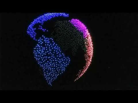 Intel World Record. Over Two-Thousand Drones Light Up the Sky! - UCgMyyyOOF1ziYzuDhp88sRQ