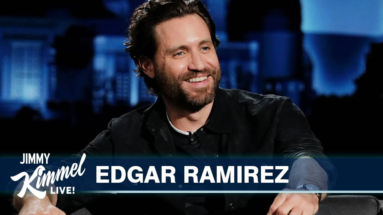 Edgar Ramírez on Quarantine in the Rockies & Netflix Movie with Jennifer Garner
