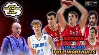 SERBIA vs FINLAND