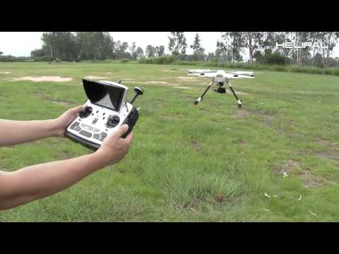 Quick Start Guide of Walkera Tali H500 Hexacopter - HeliPal.com - UCGrIvupoLcFCW3CIKvfNfow