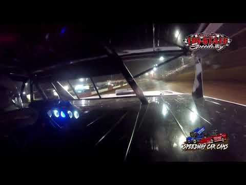 #19 Kyle Slader - USRA B-Mods - 9-11-2021 Tri-State Speedway - In Car Camera - dirt track racing video image