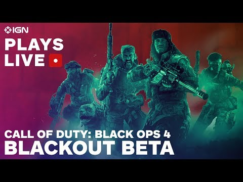Call of Duty: Black Ops 4 Blackout Beta Gameplay Livestream and Impressions - IGN Plays Live - UCKy1dAqELo0zrOtPkf0eTMw