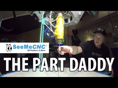 3D Printing: The Part Daddy 3D Printer from SeeMeCNC at Maker Faire New York #WMF16 - UC_7aK9PpYTqt08ERh1MewlQ