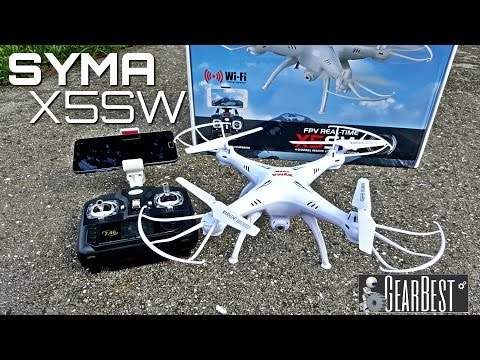 Syma X5SW Quadcopter - [Unboxing & Review] - 6 Axis - 2.4GHz - WIFI - FPV - 2MP Camera - UCemr5DdVlUMWvh3dW0SvUwQ