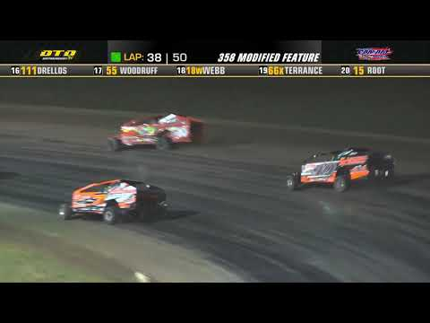 Can-Am Speedway   DIRTcar 358-Modified Series Feature Highlights   9/10/21 - dirt track racing video image