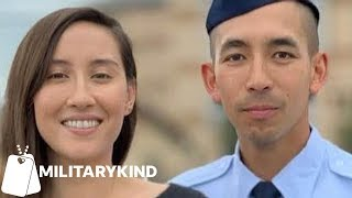 Airman Goes From Attention To Tears As Wife Taps Him Out | MIlitarykind