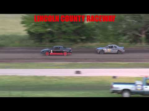 Lincoln County Raceway  Sport Compact Main   7 17 21 - dirt track racing video image