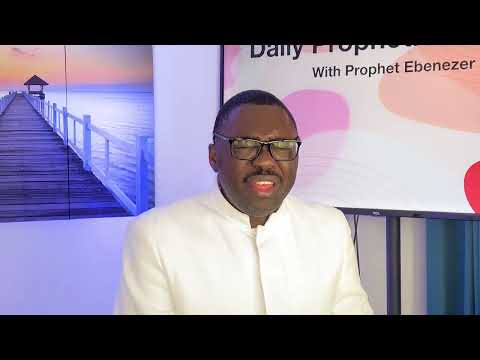 Prophetic insight July 30,2021