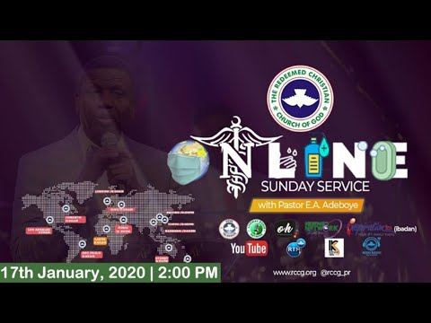 RCCG JANUARY 17TH 2020  PASTOR E.A ADEBOYE SPECIAL SERVICE