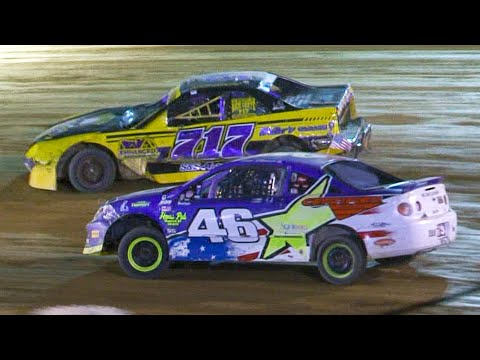 Mini Stock Feature | Bradford Speedway | 9-20-20 - dirt track racing video image