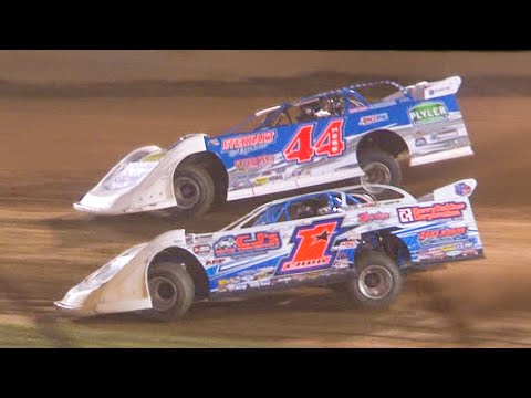 Super Late Model Feature | Eriez Speedway | 9-19-21 - dirt track racing video image