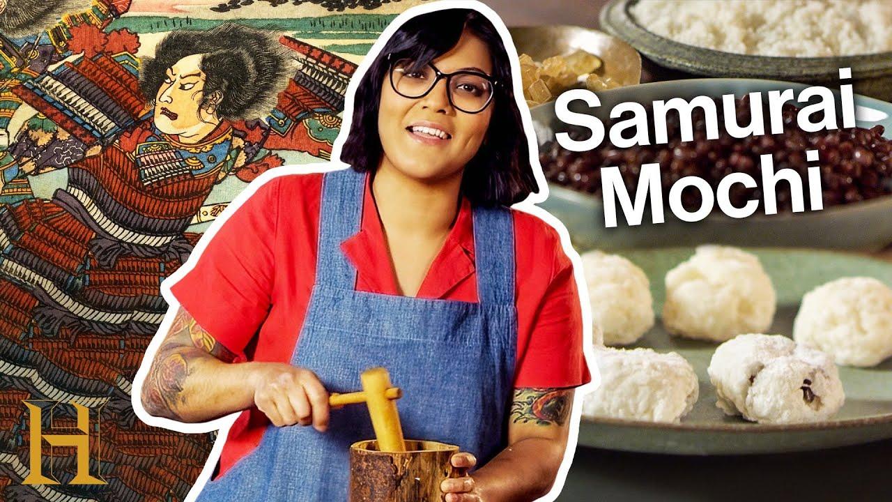 Sohla Makes Samurai Mochi | Ancient Recipes with Sohla | History