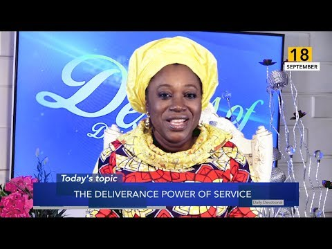 Dr Becky Paul-Enenche - SEEDS OF DESTINY  WEDNESDAY 18TH SEPTEMBER, 2019
