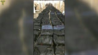 Kokain für eine Milliarde Euro in Hamburger Hafen gefunden | AFP