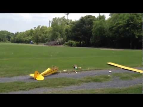 Restored J3 Piper Cub First flight and crash. - UCa2pm_Pi_TPCKtFU7y77u8g